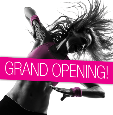 Pink Gym Grand Opening