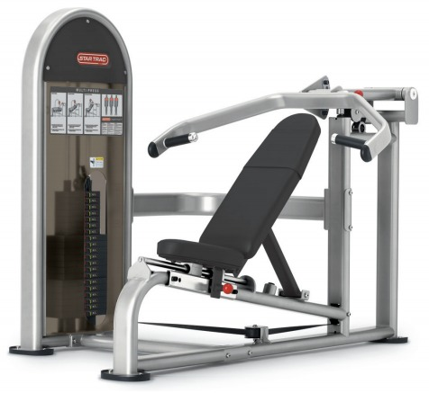 star trac fitness equipment instinct dual multi press