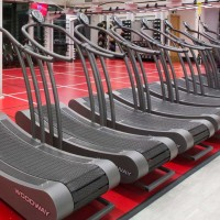 Virgin active using woodway