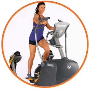 octane fitness lateral elliptical cross trainers