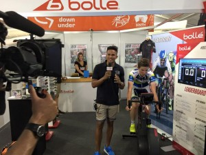 John Steffensen and Wattbike