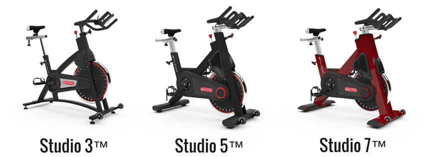 Star Trac Fitness New Studio Cycles Range of Spin Bikes