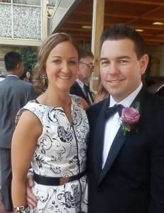 Adam Lewit pictured with wife Lisa[1]