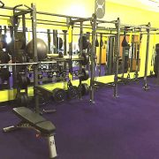 24 x 4 CUSTOM WALL MOUNT X-RACK – ANYTIME FITNESS