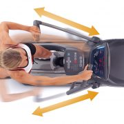 Octane Fitness PRO3700C Elliptical Movement