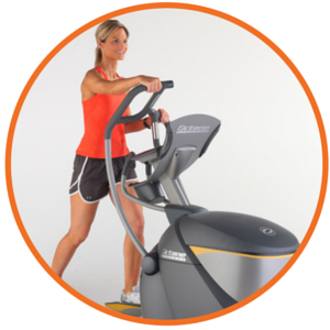 octane fitness upright elliptical cross trainers